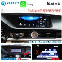 YESSUN For Lexus ES 250 ES250 2012~2013 XV60 Car Android Carplay GPS Navi maps Navigation Player Radio Stereo no DVD HD Screen