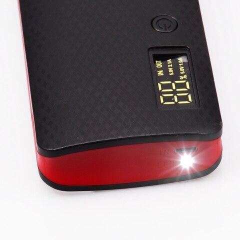 Power Bank 20000mah (No Battery) USB Port for Xiaomi Huawei Mobile Phone Charger Powerbank Case Pover 18650 DIY Power Bank Box Karachi