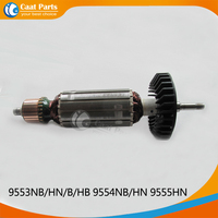 ac-220v-drive-shaft-electric-hammer-armature-rotor-for-makita-9553nbhnbhb-9554nbhn-9555hnhigh-qualityfree-shipping