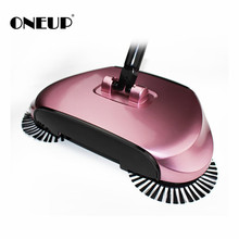 Stainless Sweepers Sweeping Machine Push Type Steel Hand Push Hand Push Magic Broom Sweepers Dustpan Household Cleaning Tools
