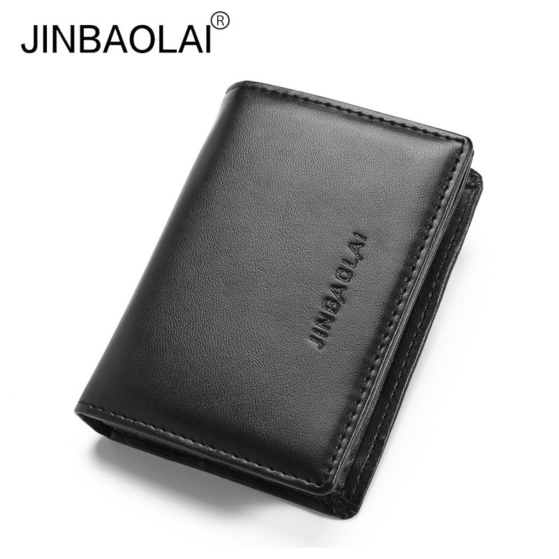 Men's Wallets Purse Quality Guarantee Business Credit Card Holders Mens Front Pocket Wallet Purse for Money Wholesale Price