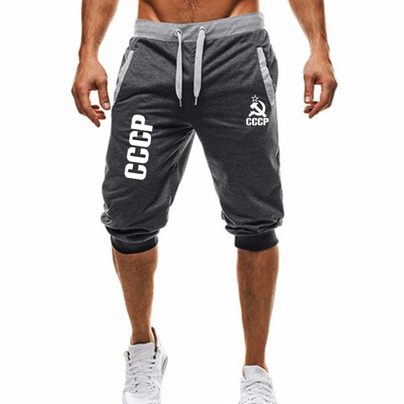 2019 GYM WINER Fitness   short   jogging casual workout clothes men's   shorts   summer new fashion men's casual men's knee long   shorts