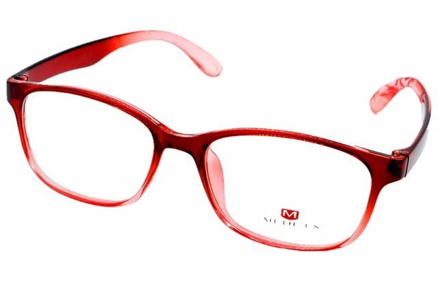cfd828df73 2016 NEW FULL-RIM FASHION RED GLASSES FRAME CUSTOM MADE OPTICAL MYOPIA AND READING  GLASSES