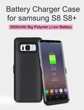 Battery Charger Case For Samsung S8 S8 plus s8+ Backup External Battery Power Bank For Galaxy S8 Portable Powerbank Charger Case