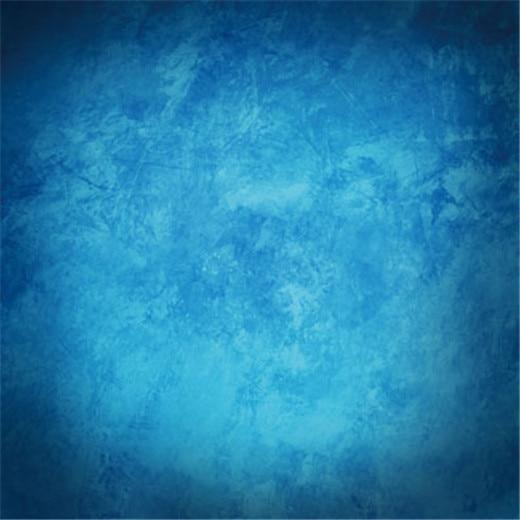 8x8FT Royal Medium Blue Abstract Wall Grunge Texture