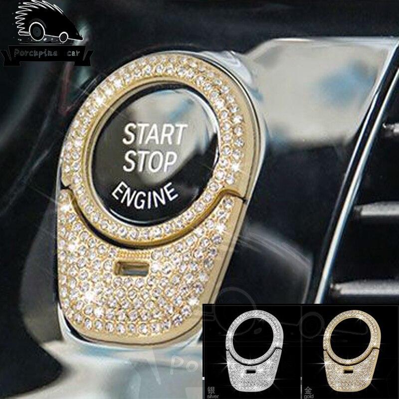 Accesorios interiores de lentejuelas de círculo de ojo de cerradura para BMW 5series 2018 530 Nuevo Multi Color USB Iluminación led interior de coche Kit atmósfera luz neón lámparas
