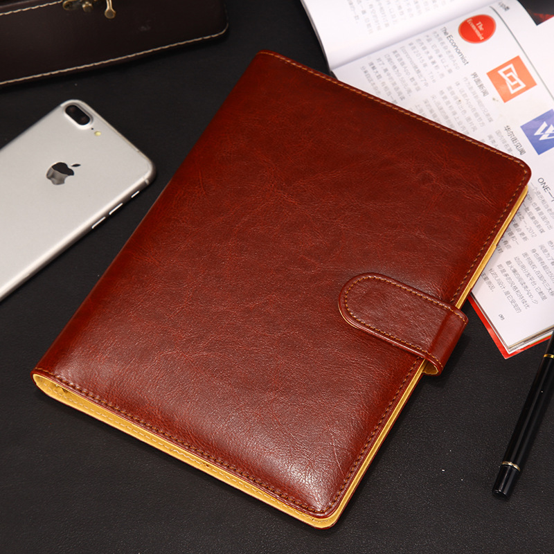 Cute A5 B5 Spiral Notebook 6 Rings Planner Organizer Personal Travel Diary Journal Business Buckle Note Book Stationery Suplies