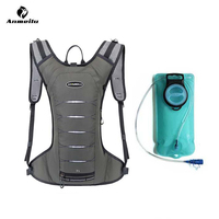 Anmeilu 3L Hydration Backpack 2L Water Bag Camping Marathon Cycling Climbing Running Water Backpack Bladder Mochila