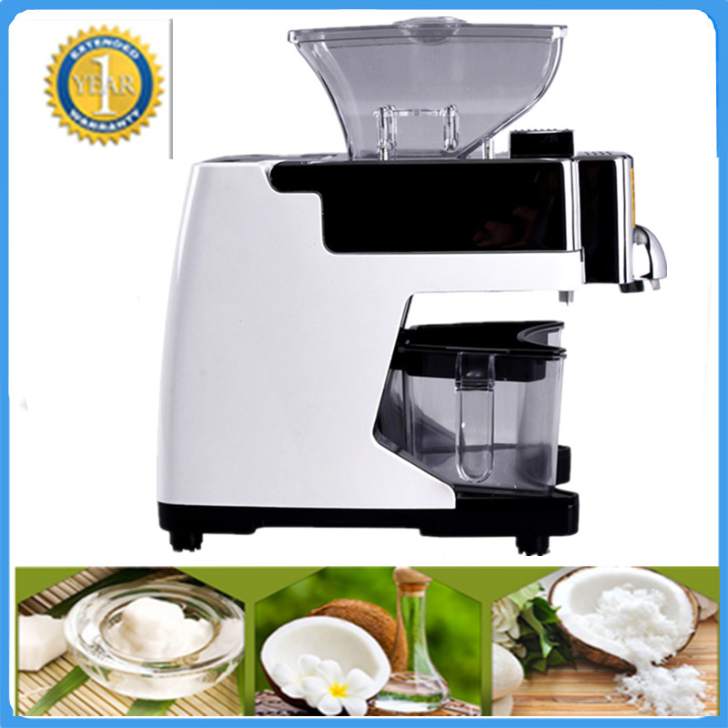 Best Selling Professional Small Coconut Oil Press Machine On Sale Automatic Mini Grape Seed Oil Extraction Machine hot sale 110v or 220v coconut oil press machine grape nut seed automatic abs plastic pressure high oil extraction