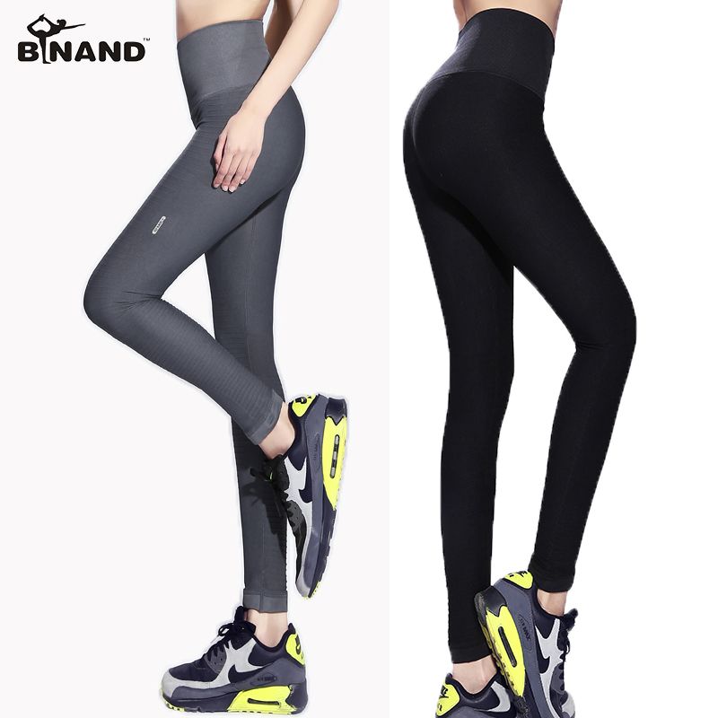 Women Quick Dry Fitness Yoga Workout Sports Wear Slim Body Gym Running Jogging Ankle Length Tights Women Sports Pants 6 Colors