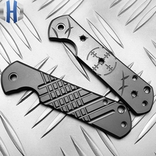 812 Titanium Alloy Shank 812CNC Patch Knife
