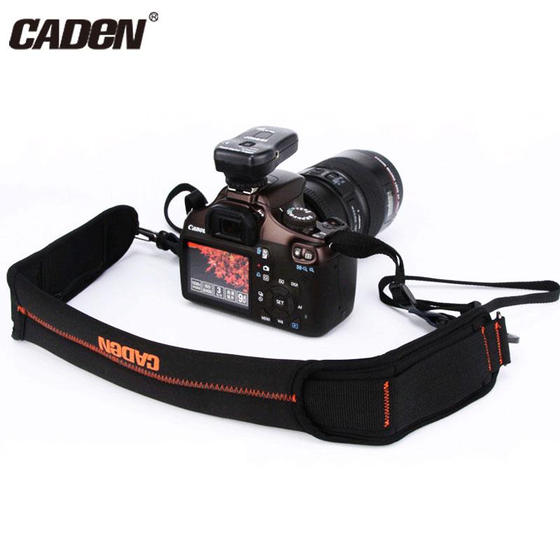 CADEN Camera Strap Shoulder Sling Net Strap Belt Neck Digital Video Carry Rope Belt For Canon Nikon Pentax DSLR Portable Sppeds