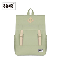 8848 Women Backpack Solid Pattern Schoolbags Casual Travel Capacity 14 2 L Resistant Knapsack Hot Sale