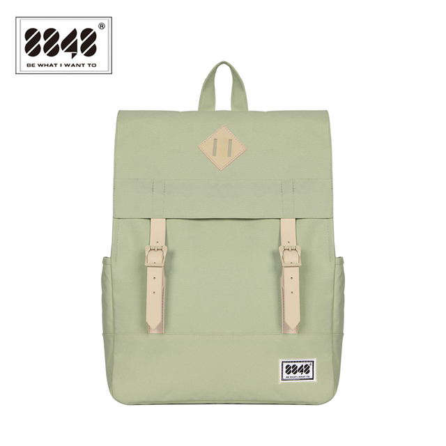 c1af44fa9c 8848 Casual Women s Backpack School Bag Female Backpack 15.6 Inch Laptop  14.2 L Waterproof Oxford Backpack