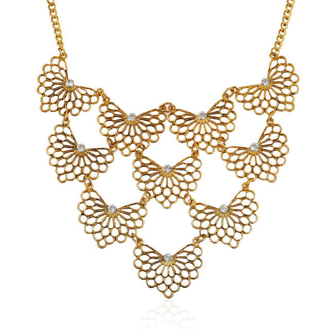 Hot sale brand design western style multilayer pendants rhinestone hot sale brand design western style multilayer pendants rhinestone gold hollow butterfly necklace jewelry statement nk0556 mozeypictures Image collections