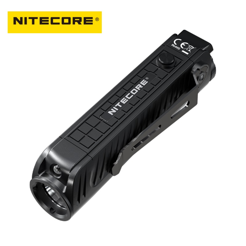 Nitecore P18 LED Flash light CREE XHP35 HD 1800 Lumens LED Tactical Flashlight with Auxiliary Red Light by 18650 Battery - 2