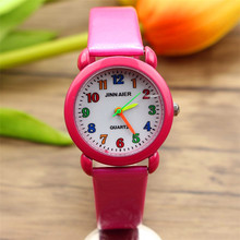 free shipping cute quartz kids watch learn to time boys and
