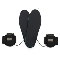 High Quality M L Battery Electric Heated Shoe Insoles Warm Foot Heater Breathable Deodorant For Winter