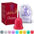 Higiene femenina Producto Reutilizable Copa Menstrual Señora Menstruación Copo de Silicona de Grado Médico Para las mujeres Higiene femenina Producto