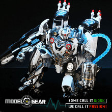 The Last Knight Nitro Oversized Robot Transformation Deformation LS-01 Ares Nitrogen Black Mamba Action Figure Model Toy 27cm