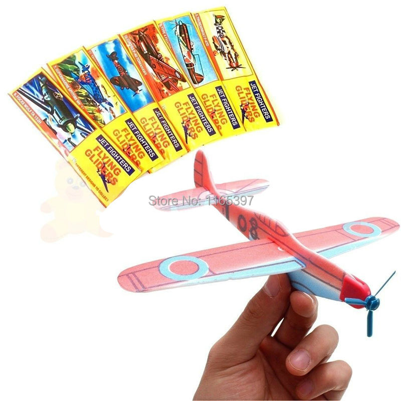 Wholesale 1000pc polystyrene world war 2 flying glider planes childrens kids party toys games favors bag pinata stock fillers