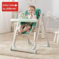 BabyCare портативный складной детский стульчик для кормления Регулируемый пятиточечный ремень безопасности для младенцев детская столовая по