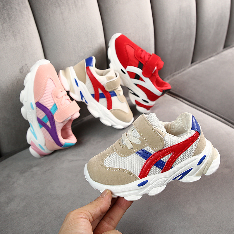Sport-Shoes Sneakers Girls New Baby Boys for Net Mesh Breathable