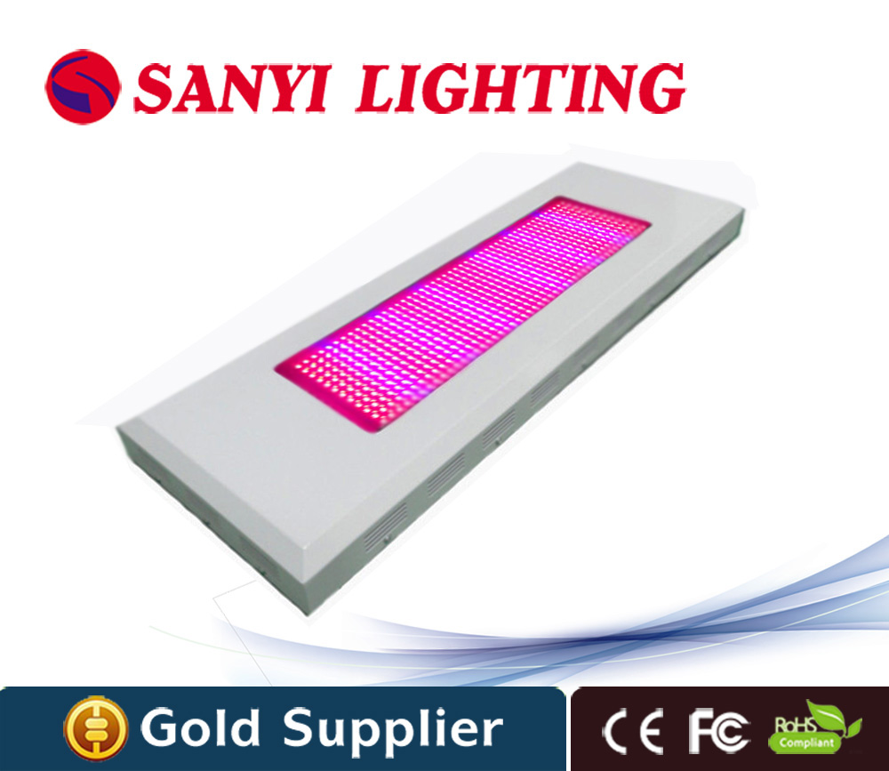 600w led plant grow light 576x1 watt red blue for indoor flower plant grow tent free shipping to Russia