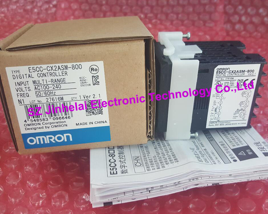 100% New and original E5CC-CX2ASM-800 OMRON  AC100-240V [zob] 100% new original omron omron proximity switch e2e x10d1 n 2m
