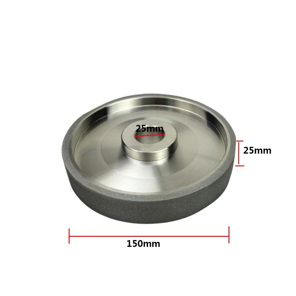 180# Diamond Grinding Wheel Carbide Steel 150mm Dia Carbide Steel Cutter Silver