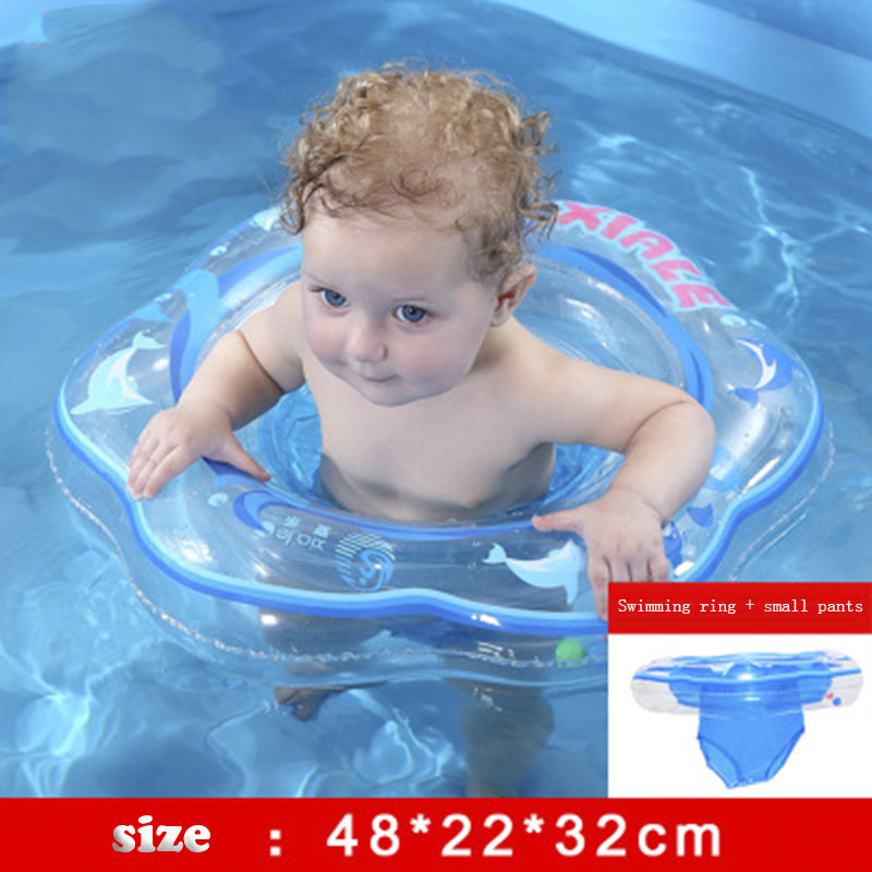 Baby Swimming Ring Infant Armpit Floating Kids Swimming Pool Circle Inflatable Double Raft Rings Toy  Children Water Toys