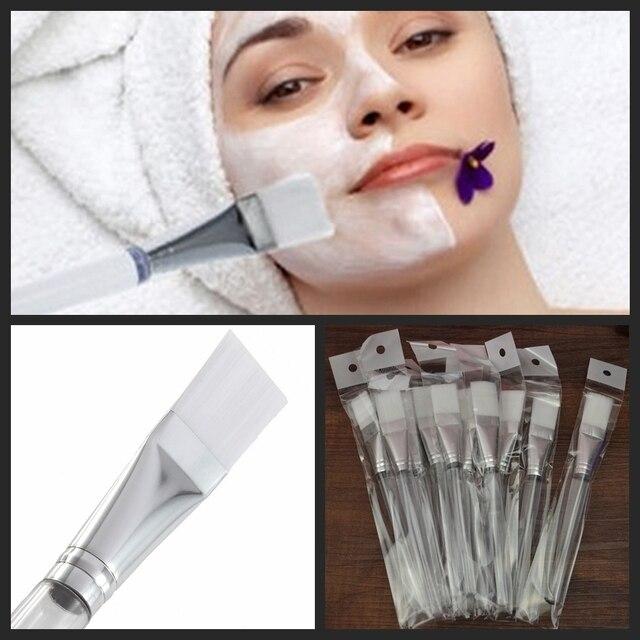 1 Sztuka Twarzy Maska Malowanie Mieszanie Miękkie Fundacja Makeup Brush Uroda Narzędzie Kosmetyczne Kosmetyki Ręcznie w celu uzupełnienia