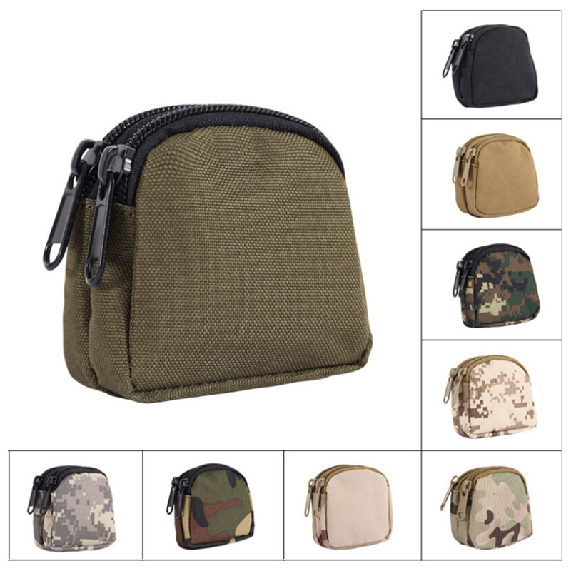 Tactical Bag Mini Waist Bag Military Equipment Pouch Practical Key Coin Case Emergency Kits