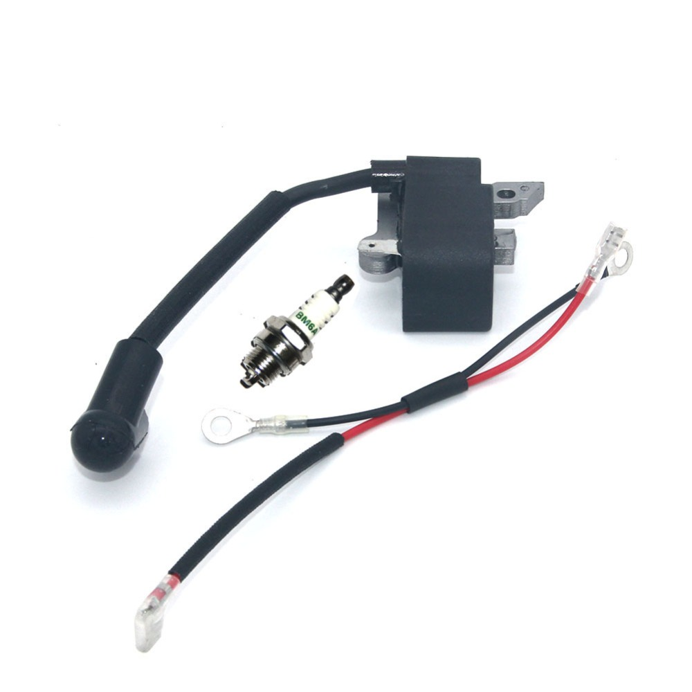 Ignition Module With Spark Plug BM6A For Husqvarna 36 41 136 136E 136LE 137 137E 141 141LE 142 142E 235 235E 240 240E