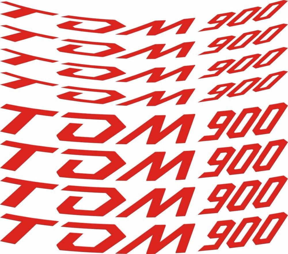 8 X CUSTOM INNER RIM DECALS WHEEL Reflective STICKERS STRIPES FIT  YAMAHA TDM900 кофры komine