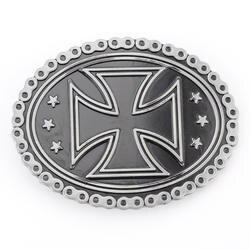 Крест дизайн простой пряжка на ремешке ремень аксессуары декоративной пряжкой