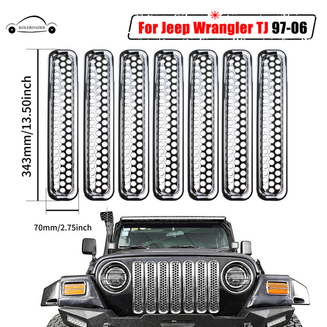 "2pc Black Jeep of the Family Set Decal sticker 2""x 22"" Compatible  with"