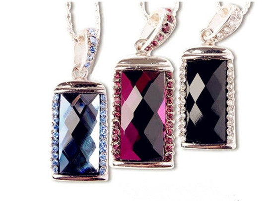 jewellery diamond necklace USB Flash Drive 4GB 8GB Memory Card Stick 16GB 32GB Thumb/Car key/Pendrive U Disk/creative Gift