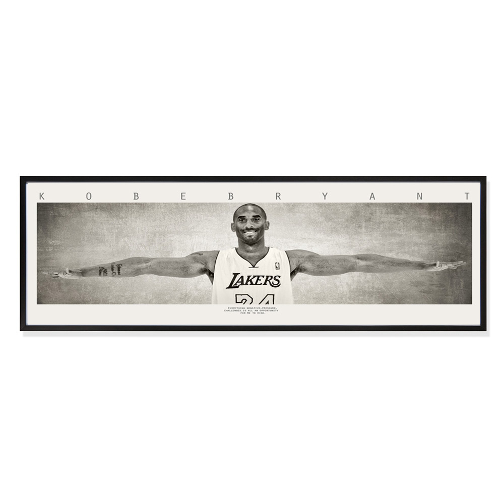 Kobe Bryant Autographed & Inscribed Wings Alternative 20th