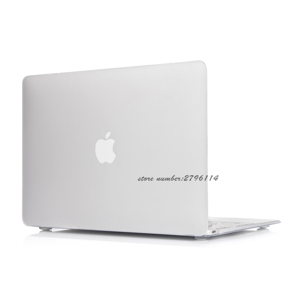 Hot white Crystal Case For Apple Macbook Air Pro Retina 11 12 13 15 Laptop Cover Bag For Mac book 13.3 inch