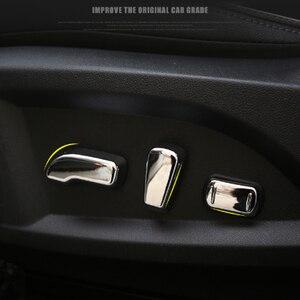Хромированная накладка на переключатель сиденья Foal Burning для Renault Koleos 2017 2018, автомобильные аксессуары
