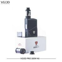 100% оригинальные электронные сигареты VGOD Pro 200 Вт поле Mod комплект Безопасный испаритель Mod 4 мл Subohm бак США Vape электронных сигарет VS SMOK