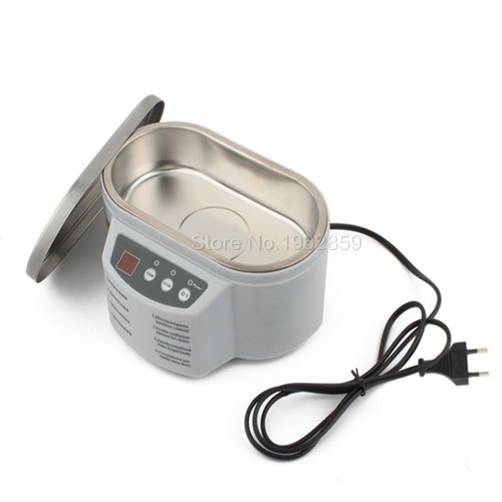 Stainless Steel Dual 30W/50W Display Ultrasonic Cleaner Dental Lab Equipment Artificial Tooth Clean Medical Instrument Cleaning 50%off fission machine dual touch screen sterilizer dental whitening tattoo clean metal gem ultrasonic cleaner autoclave tool