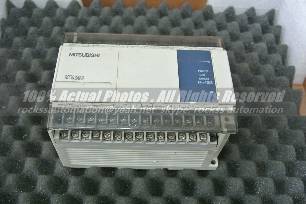 FX1N-40MR-001 Used Good In Conditon With Free DHL / EMS  aj65sbtb1 32t used good in conditon with free dhl