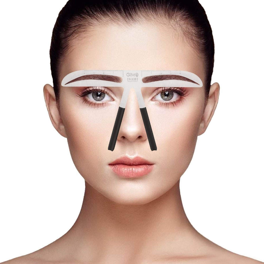 Hot Sale Womens Eyebrow Stencil For Eyebrows Enhancer Drawing Makeup