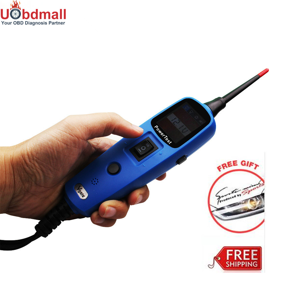 ФОТО Vgate PT150 Power Circuit Tester Lead 6V-24V Electrical System Diagnostics PK YD208 Automotive Tools