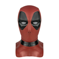 Deadpool Masque Mask Cosplay Movie Halloween high quality Exquisite PVC Cosplay Costume Props Party Masks Adult