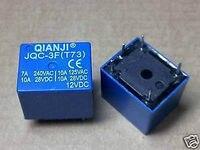 100X QIANJI JQC 3F(T73) 12VDC PCB RELAY SPDT 10A 125VAC