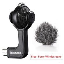 Saramonic G-Mic stereo-kuulmikrofon vaht- ja karvase tuuleklaasiga GoPro HERO3, HERO3 + ja HERO4 jaoks