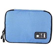 storage bag Waterproof Portable Cable Storage Bag Electronic Organizer Gadget Travel Bag USB Earphone Case Digital Organizador